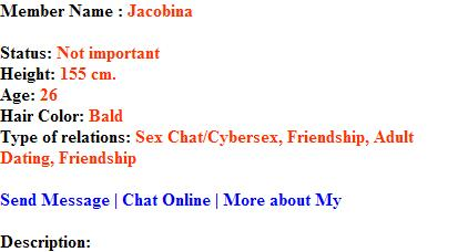 online sex chat